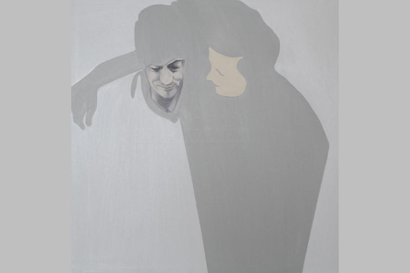 Aldo-Pepe-l-abbraccio-olio-su-tela